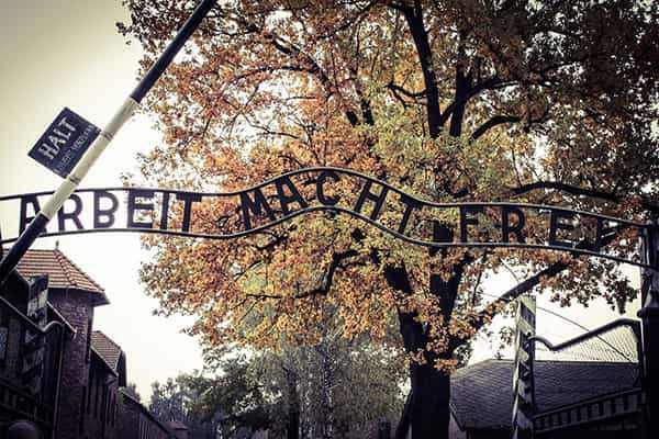 Obóz Auschwitz-Birkenau w Oświęcimiu